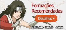 Formações Recomendadas - Naruto Online