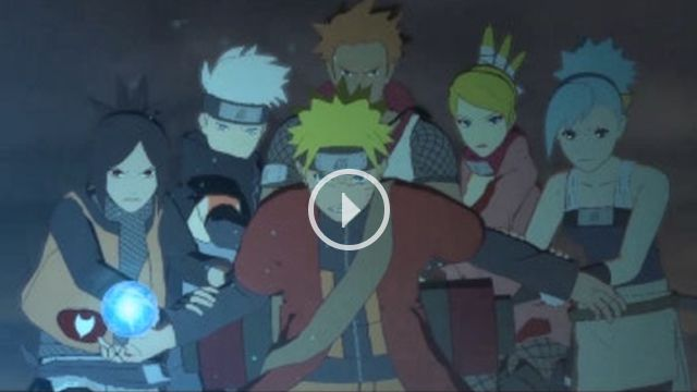 Mobile Version of the official Naruto Online website