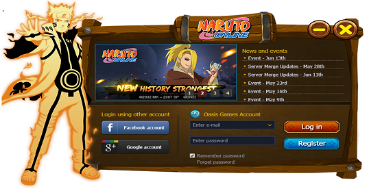 Naruto Online Sign In